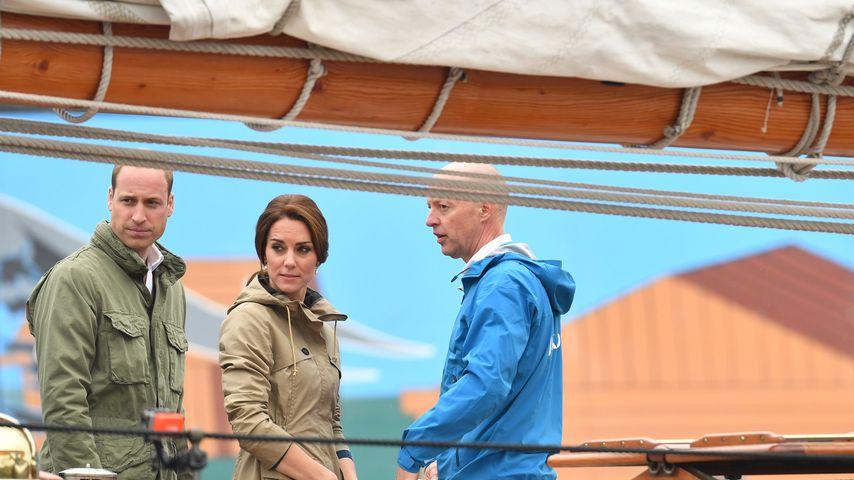 Royals ahoi! William und Kate bringen ihren Kids Segeln bei