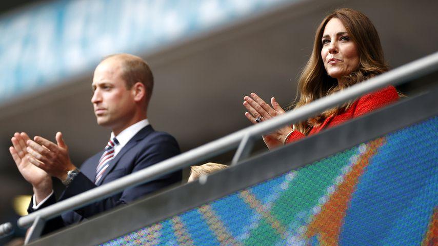 Prinz William und Herzogin Kate beim EM-Spiel Deutschland-England