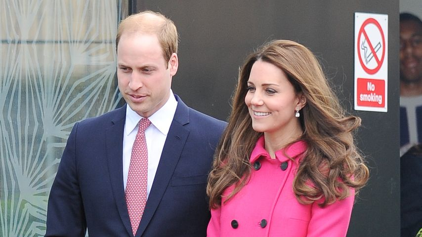 Prinz William und Herzogin Kate in London
