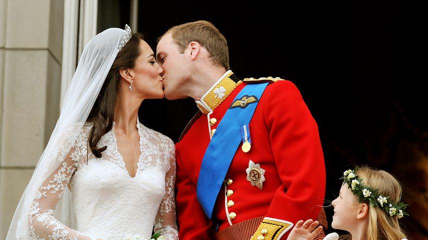 Prinz William und Herzogin Kate auf ihrer Hochzeit