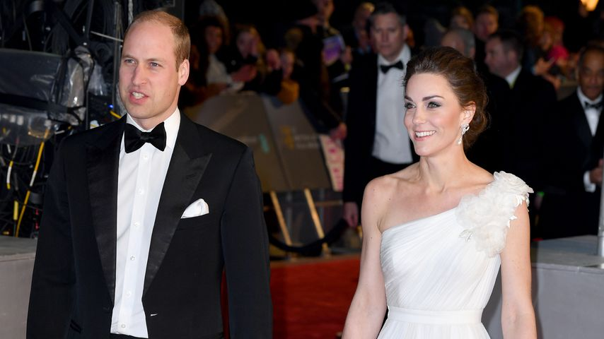 Prinz William und Herzogin Kate bei den BAFTA-Awards, 2019