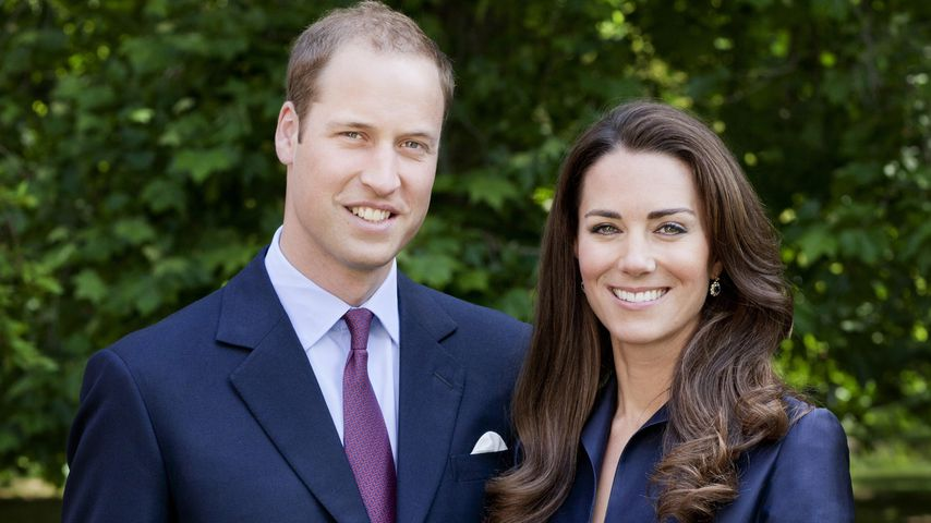 Prinz William und Herzogin Kate in London, 2011