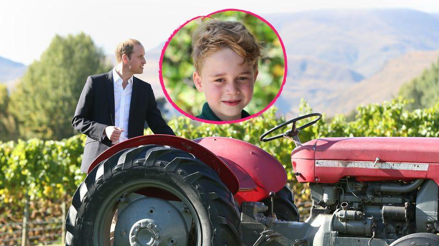 Prinz William verrät: Söhnchen George erpicht auf Traktoren