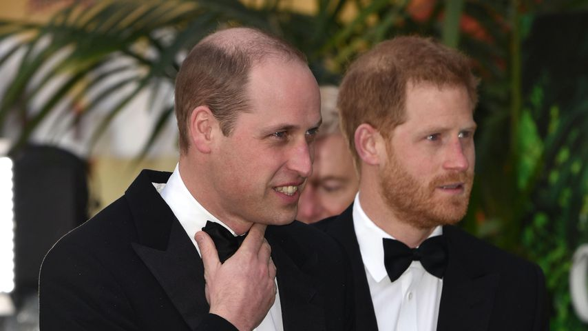 Prinz William und Prinz Harry in London, 2019