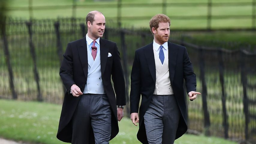 Prinz William und Prinz Harry bei Pippas Hochzeit
