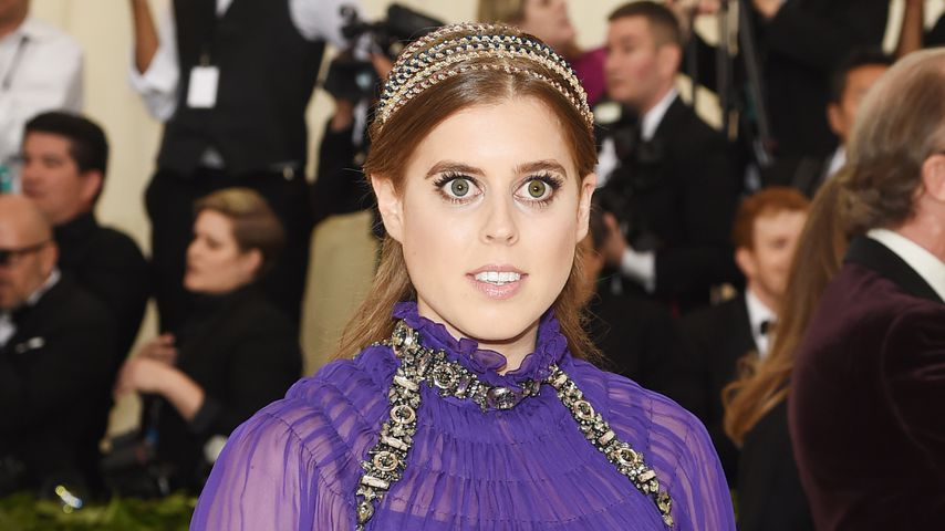 Prinzessin Beatrice auf dem Red Carpet der Met Gala in New York