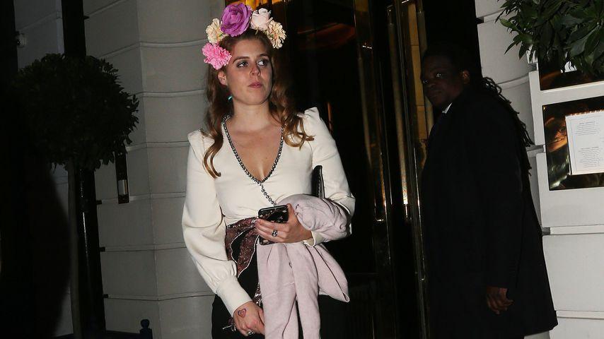 Prinzessin Beatrice bei einer Gala in London 2018