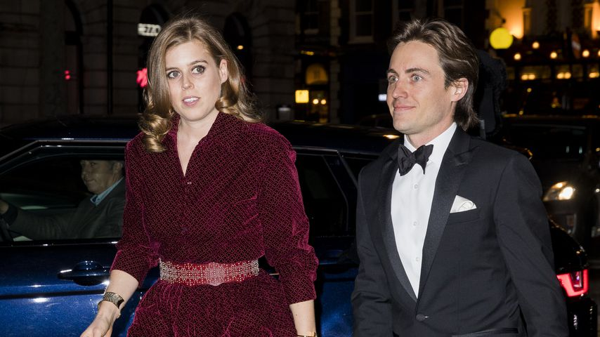 Prinzessin Beatrice und Edoardo Mapelli Mozzi in London, 2019