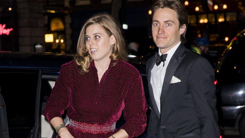 Prinzessin Beatrice und Edoardo Mapelli Mozzi bei der Portrait Gala in London