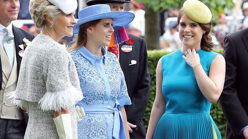 Prinzessin Beatrice und Prinzessin Eugenie beim Royal Ascot 2019