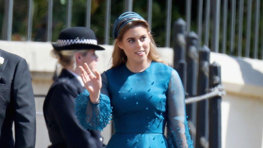 Prinzessin Beatrice auf Prinz Harry und Herzogin Meghans Hochzeit