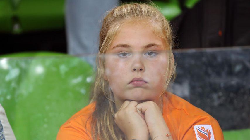 Prinzessin Catharina-Amalia der Niederlanden bei den Olympischen Spielen in Rio