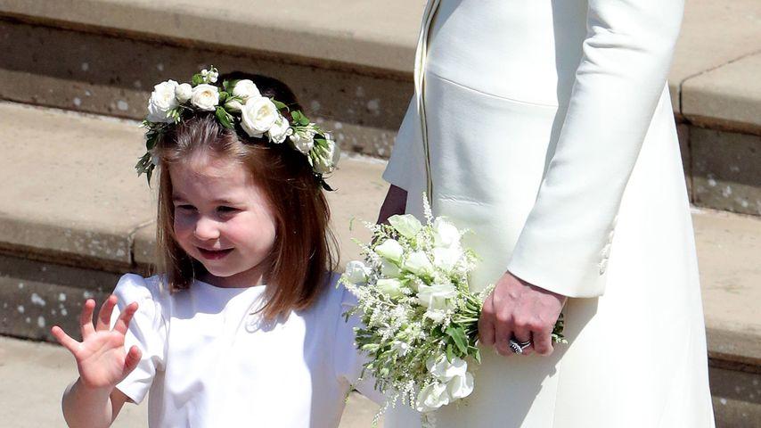 Prinzessin Charlotte als Blumenmädchen