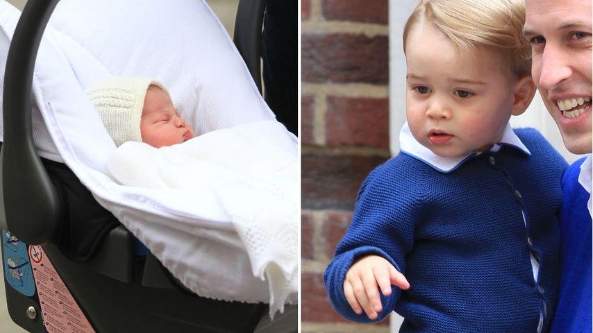 Prinzessin Charlottes Taufe: Bescheidener als bei George