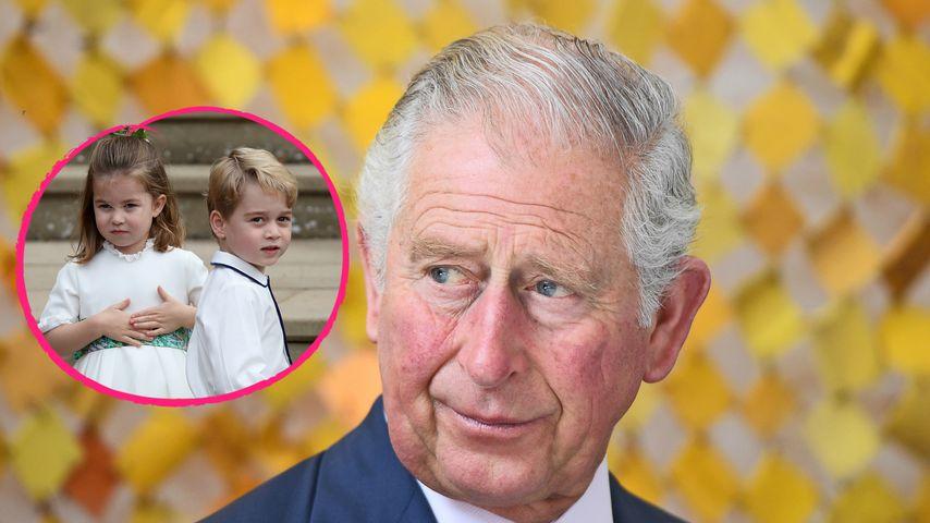 "Prinz Charles liest George & Charlotte ""Harry Potter"" vor"
