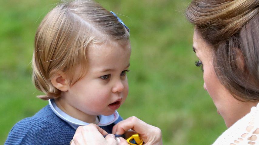 Prinzessin Charlotte und Herzogin Kate im Government House von Kanada