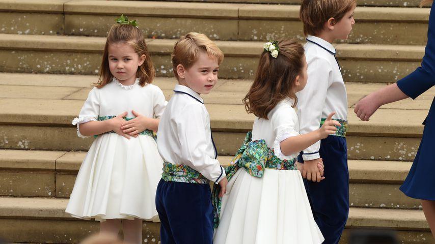 Prinzessin Charlotte und Prinz George im Oktober 2018