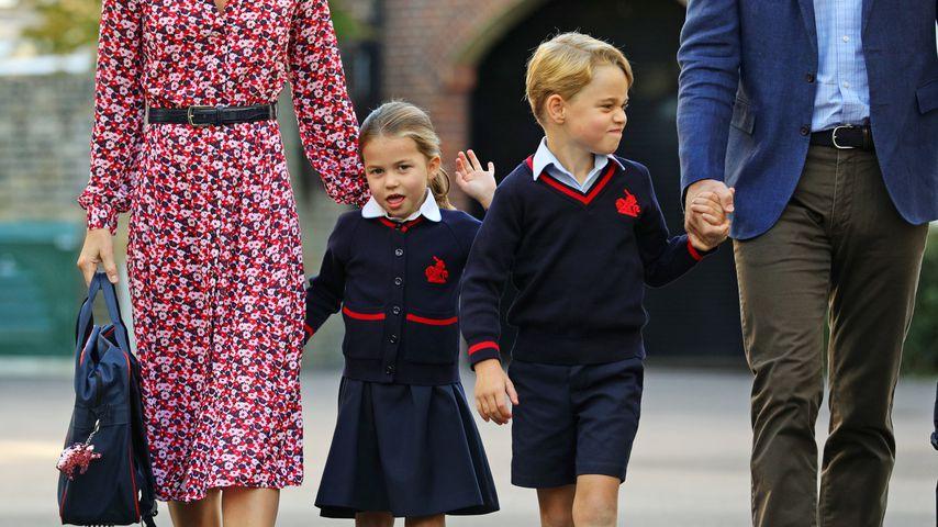 Prinzessin Charlotte und Prinz George in London, 2019