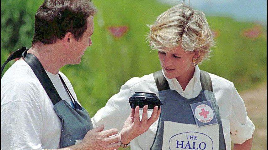 Prinzessin Diana in Huambo