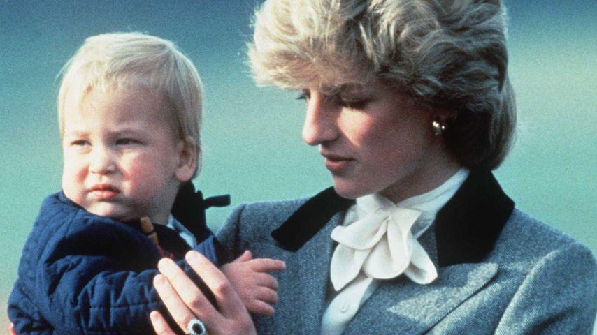 Prinz William und Prinzessin Diana, 1983