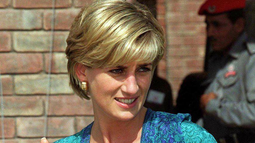 Prinzessin Diana in Lahore, 1997