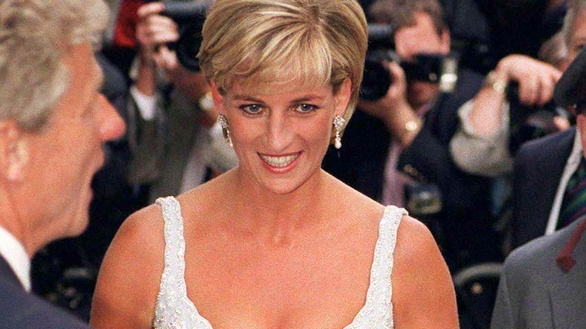 Prinzessin Diana in London, 1997