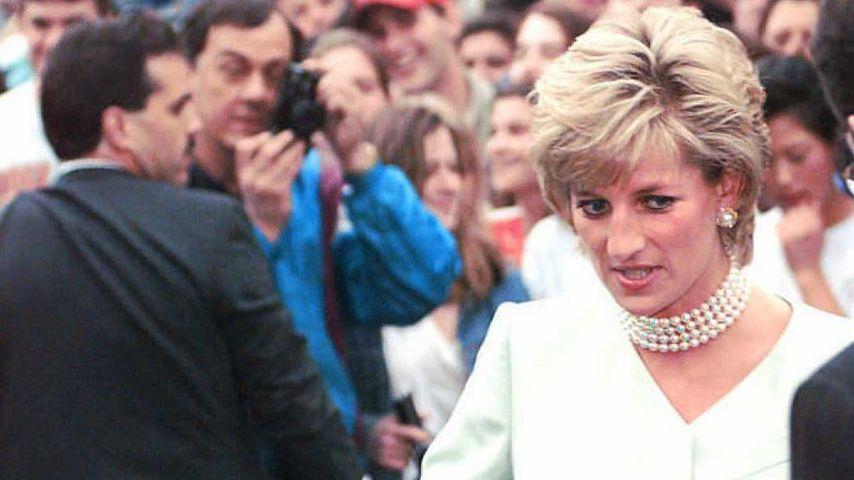 Prinzessin Diana in Evanston, 1996