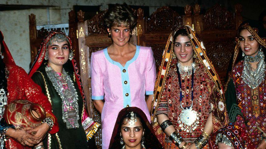 Rührende Bilder: So strahlte Prinzessin Diana in Pakistan