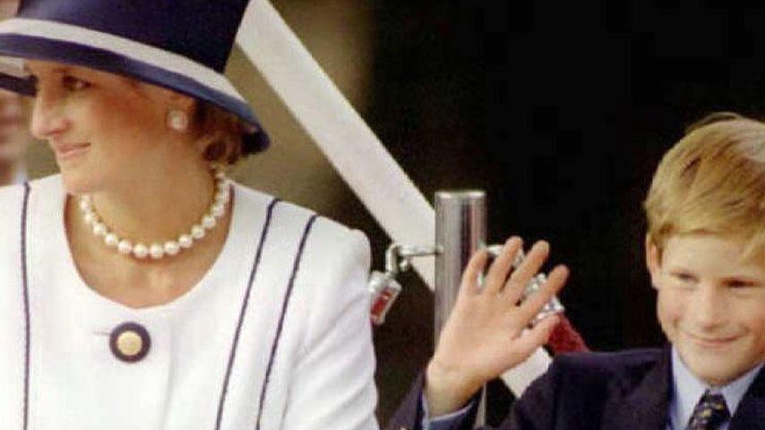 Prinz Harry und Prinzessin Diana