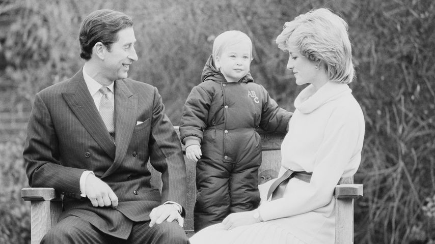 Spruch über Harry: Charles' Worte zerstörten Ehe mit Diana