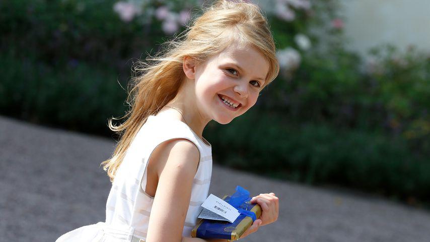 Bald ein Schulkind: Wie aufgeregt ist Prinzessin Estelle?
