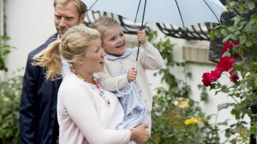 Wirbelwind: Prinzessin Estelle hält ihre Nanny auf Trab