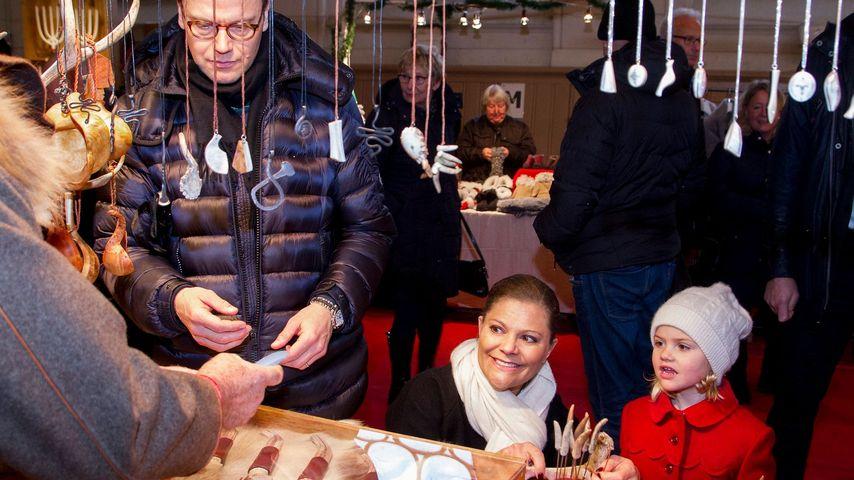 Neugierige Estelle: Royaler Ausflug auf den Weihnachtsmarkt