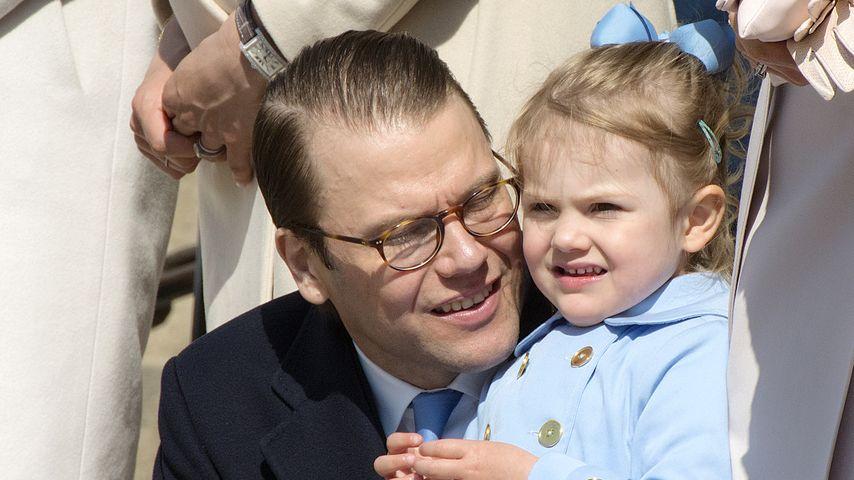 Prinzessin Estelle von Schweden und Prinz Daniel von Schweden