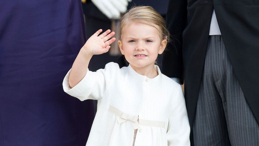 Popcorn fürs Baby: Prinzessin Estelle plant Liebesbeweis