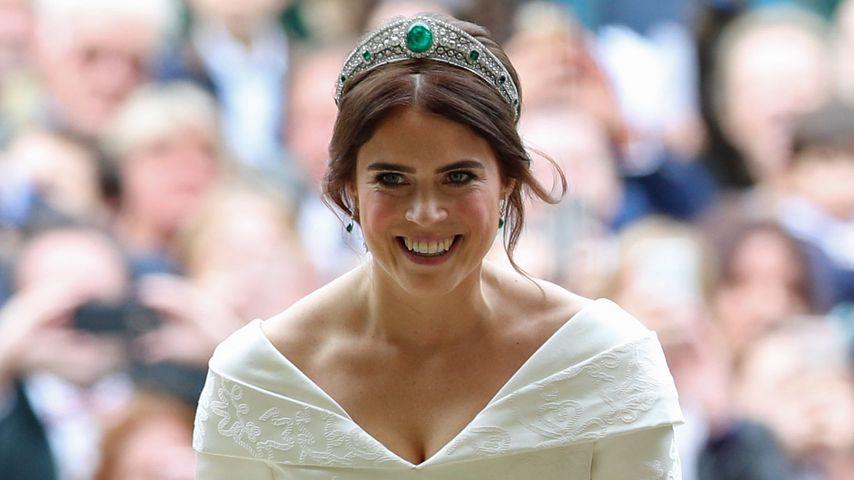 Prinzessin Eugenie bei ihrer Hochzeit, 2018
