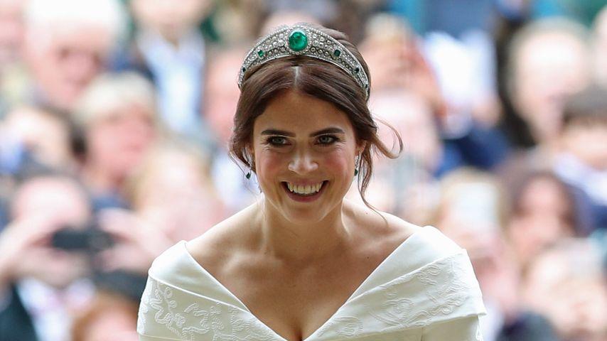 Brautkleid-Vergleich: Eugenies Look kommt bei Fans besser an