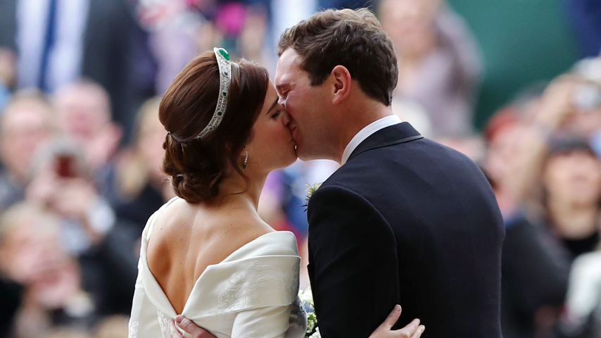 Prinzessin Eugenie und Jack Brooksbank bei ihrer Hochzeit