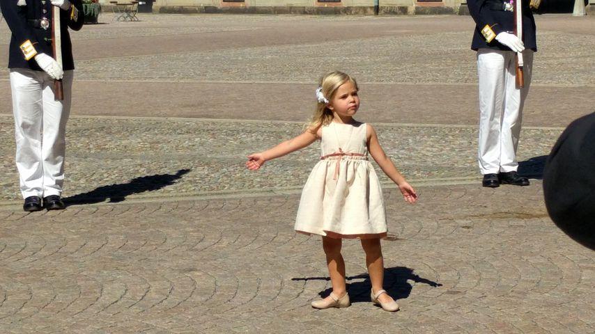 Zuckersüß: Prinzessin Leonore entwischt bei Victorias B-Day!