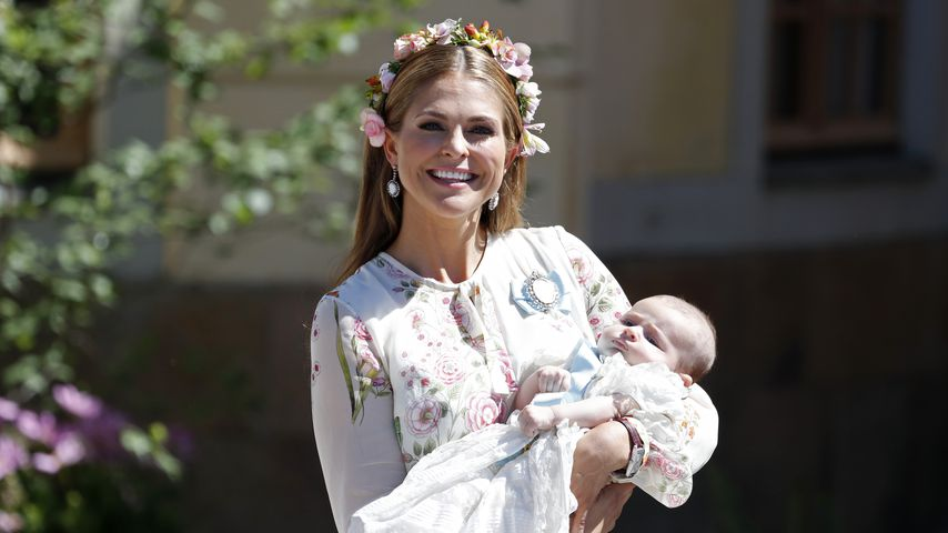 Prinzessin Madeleine happy: Adrienne schon vier Monate alt