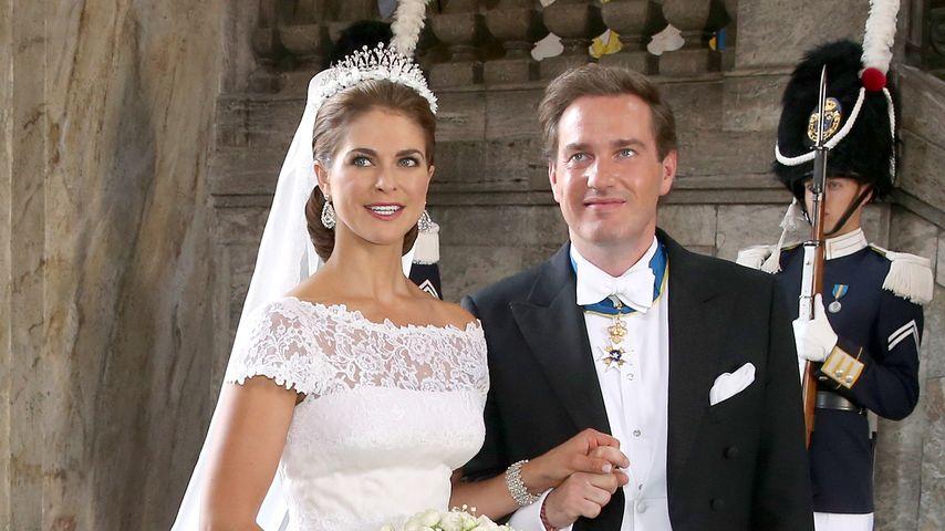 Madeleine von Schweden und Christopher O'Neill bei ihrer Hochzeit im Juni 2013