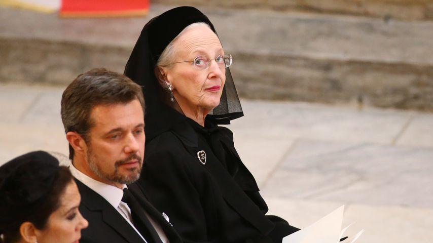 Königin Margrethe: Versteckte Botschaft bei der Trauerfeier!