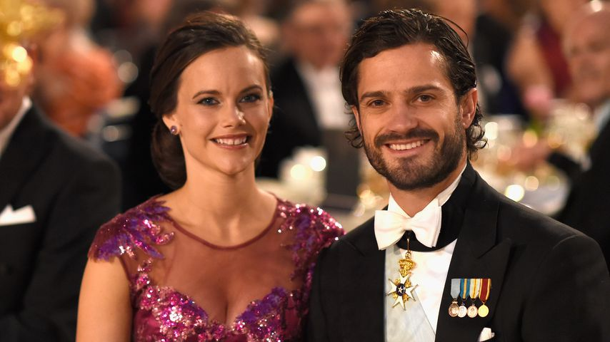 Prinzessin Sofia und Prinz Carl Philip von Schweden bei der Nobelpreis-Verleihung