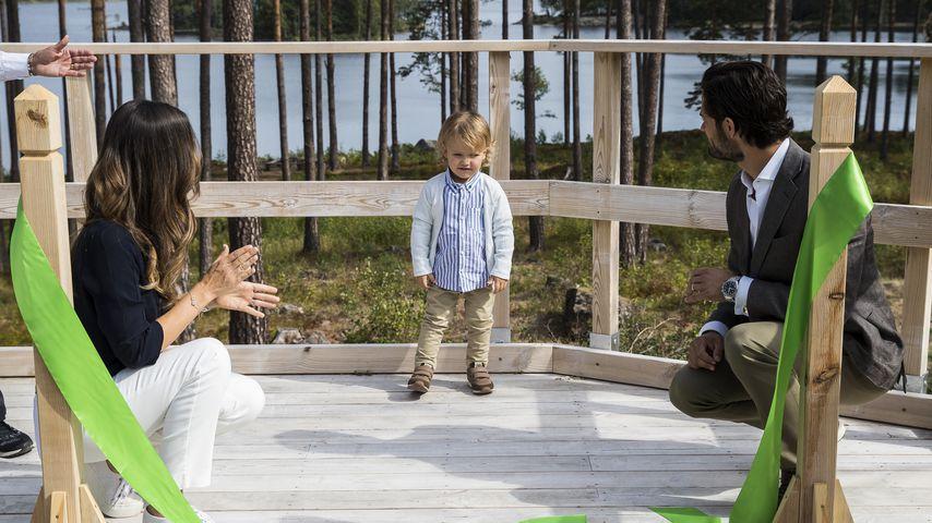 Prinzessin Sofia, Prinz Carl Philipp und ihr Sohn Prinz Alexander