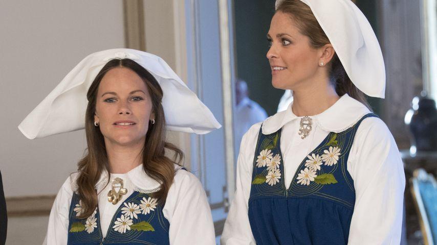 Prinzessin Sofia und Prinzessin Madeleine am schwedischen Nationalfeiertag 2016