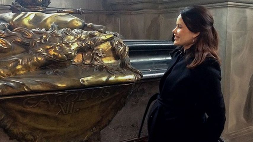 Sofia im 9. Monat: Schwanger-Auftritt ohne Prinz Carl Philip