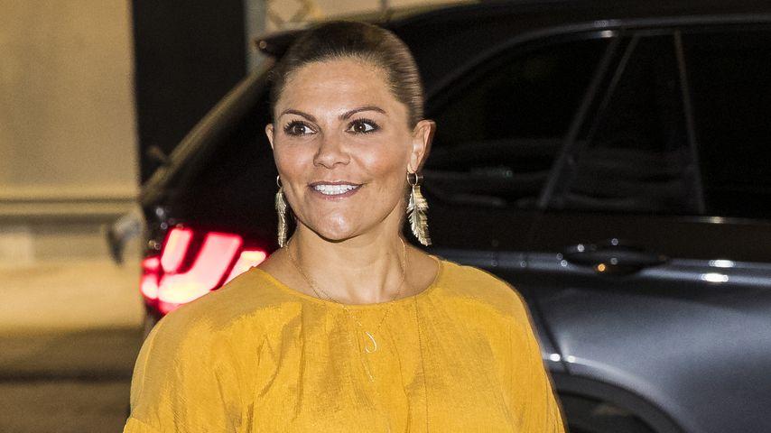 Prinzessin Victoria von Schweden bei einem Event in Stockholm, August 2019
