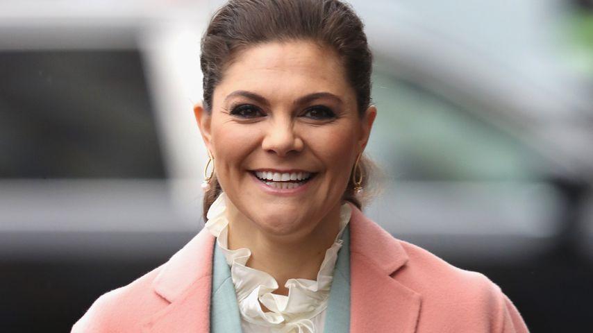 Prinzessin Victoria von Schweden bei einem Event in Stockholm im Januar 2018
