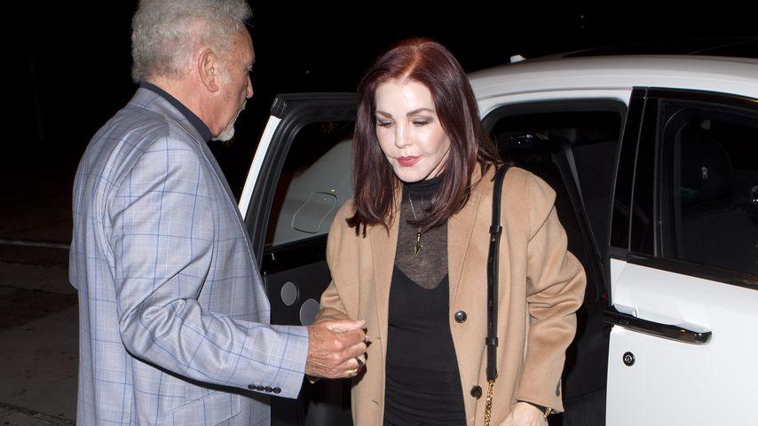 Priscilla Presley und Tomes Jones in West Hollywood
