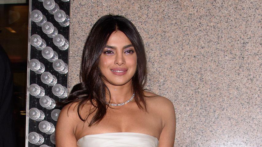Vorgeschmack aufs Kleid? Priyanka Chopra bei Braut-Party